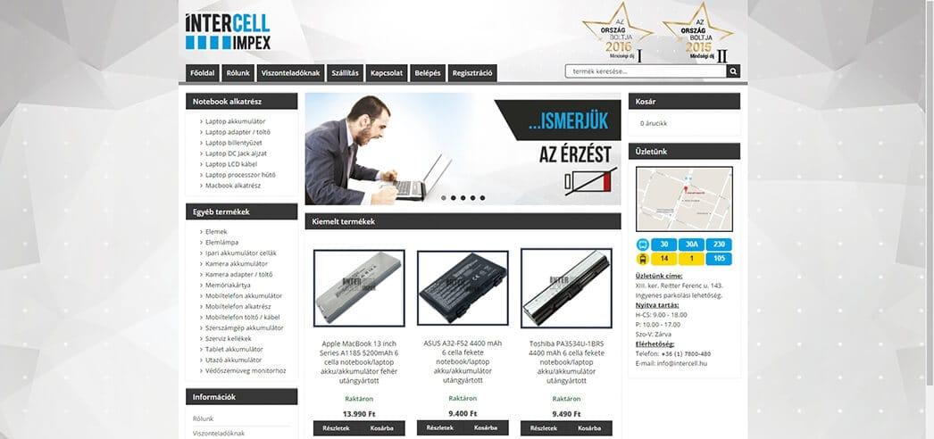 Webdesign készítés